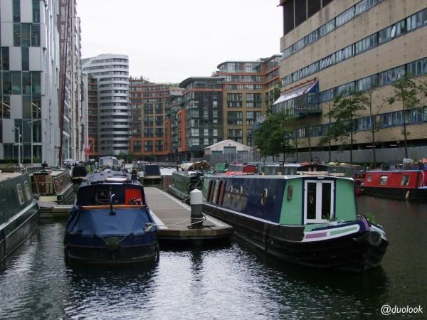 Paddington barki i kanał lokacje filmowe w Londynie