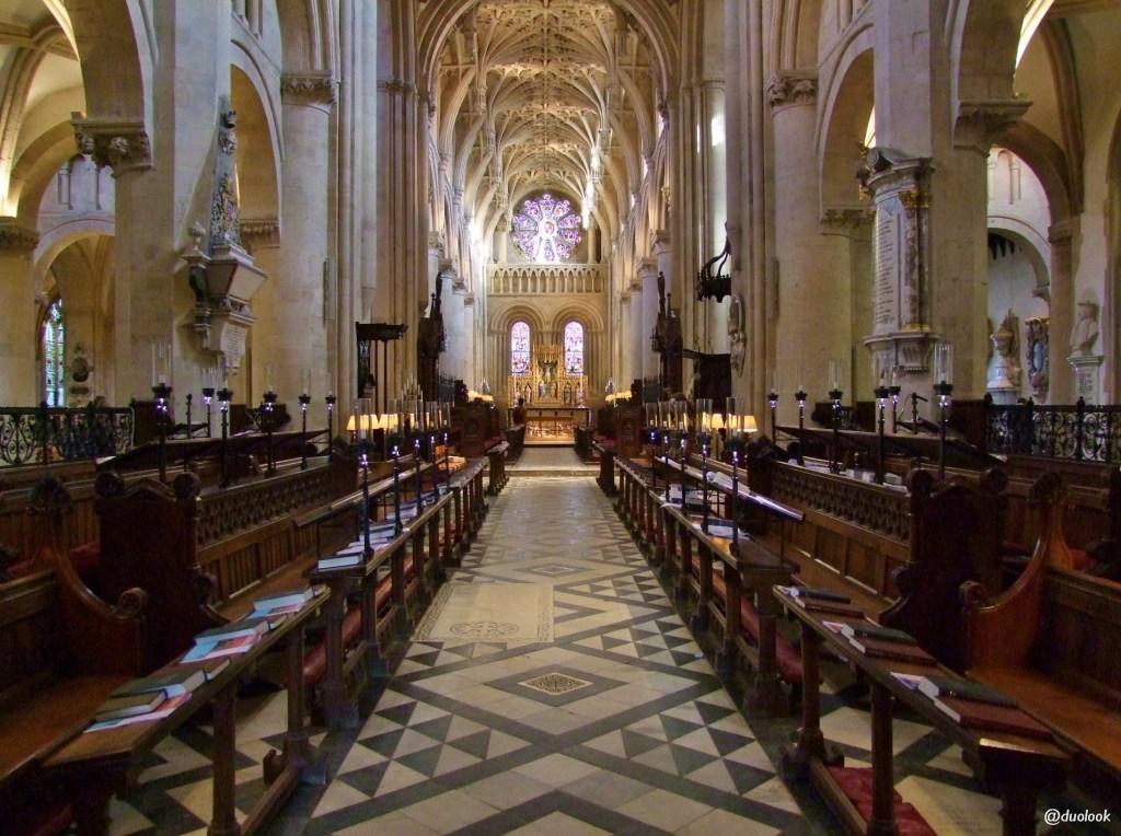 Gotyk angielski Katedra Christ Church College atrakcje