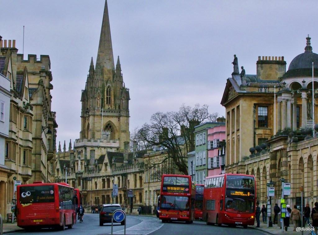 wycieczka do Oksfordu