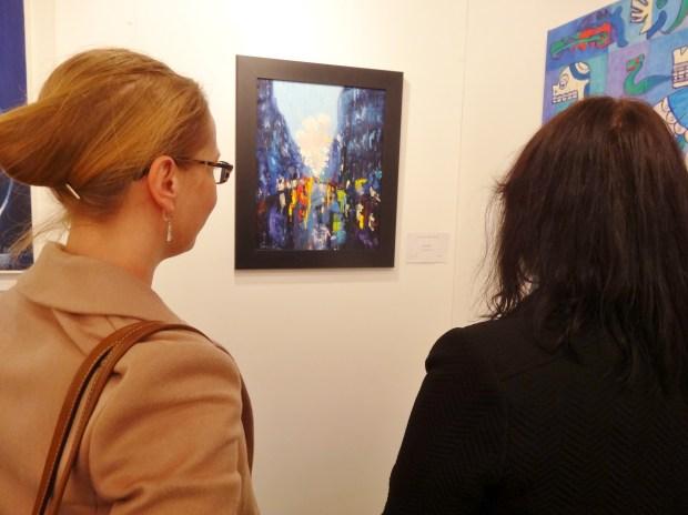 london-art-biennale-chelsea-rainy-reflections-joanna-blair