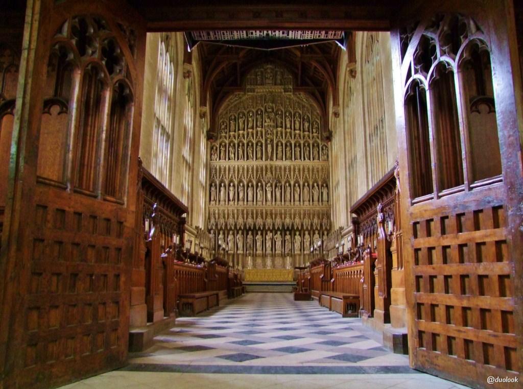 new college oksford kaplica oltarz