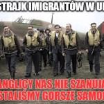 Strajk Polaków w UK