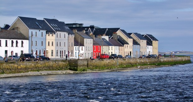 Atrakcje w Galway w Irlandii zachodniej wybrzeże