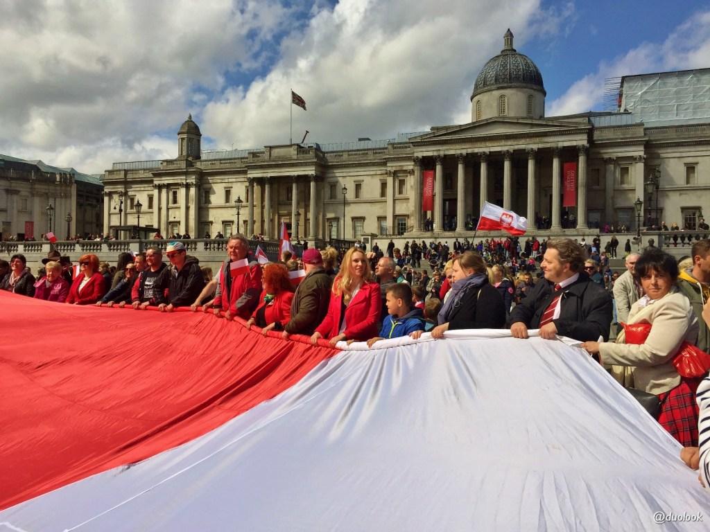 Polski Trafalgar Square 2 maja 2016
