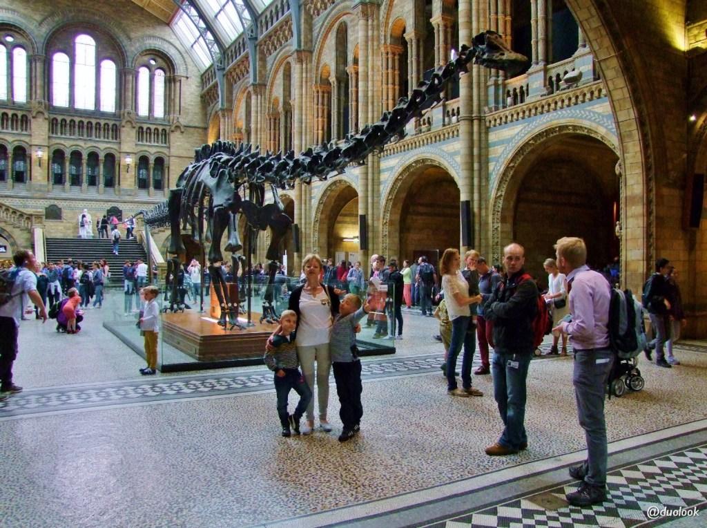 Muzea w Londynie - Natural History Museum