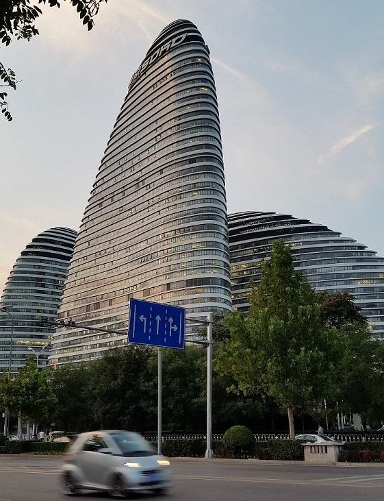 Pekin architektura Wangjing Soho Zaha Hadid