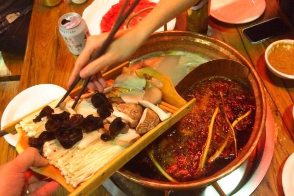 co warto zjeść -w chinach hot pot