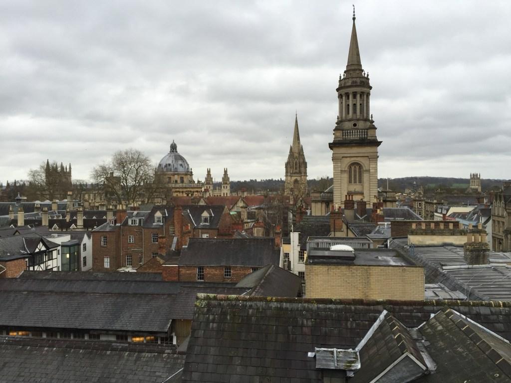 atrackje w Oksfordzie