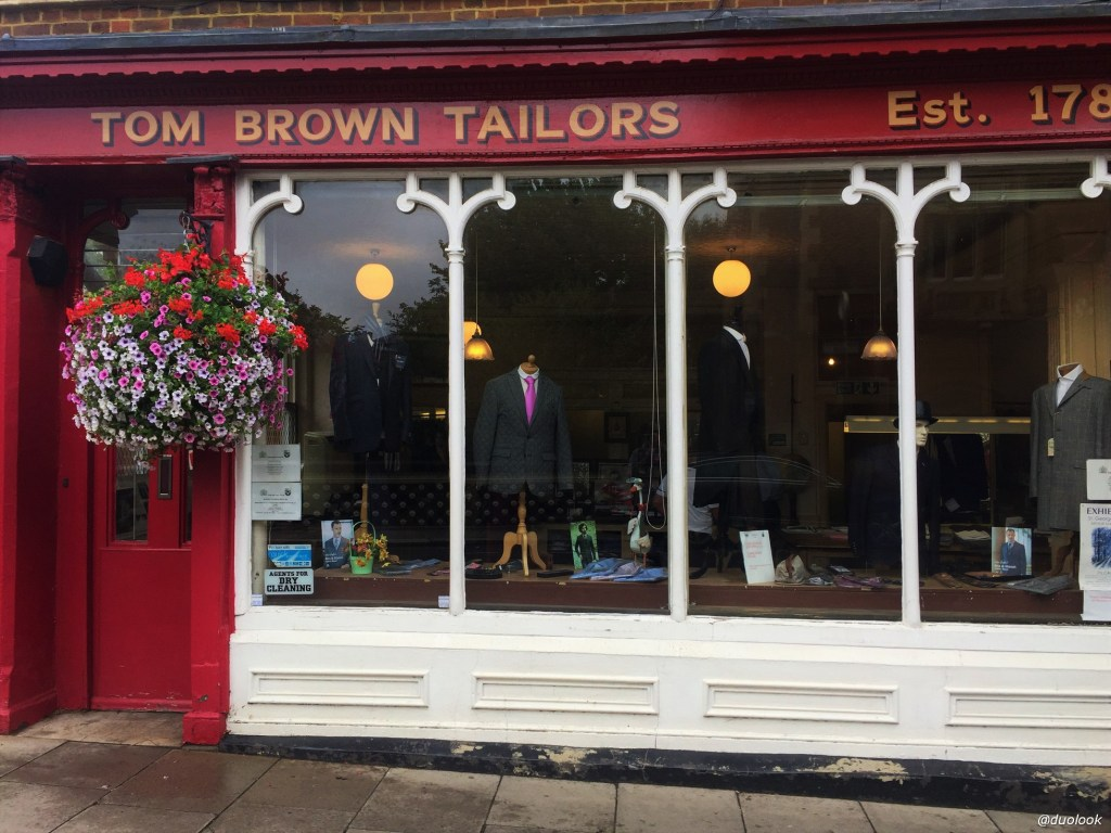 Tom Brown Tailors Eton