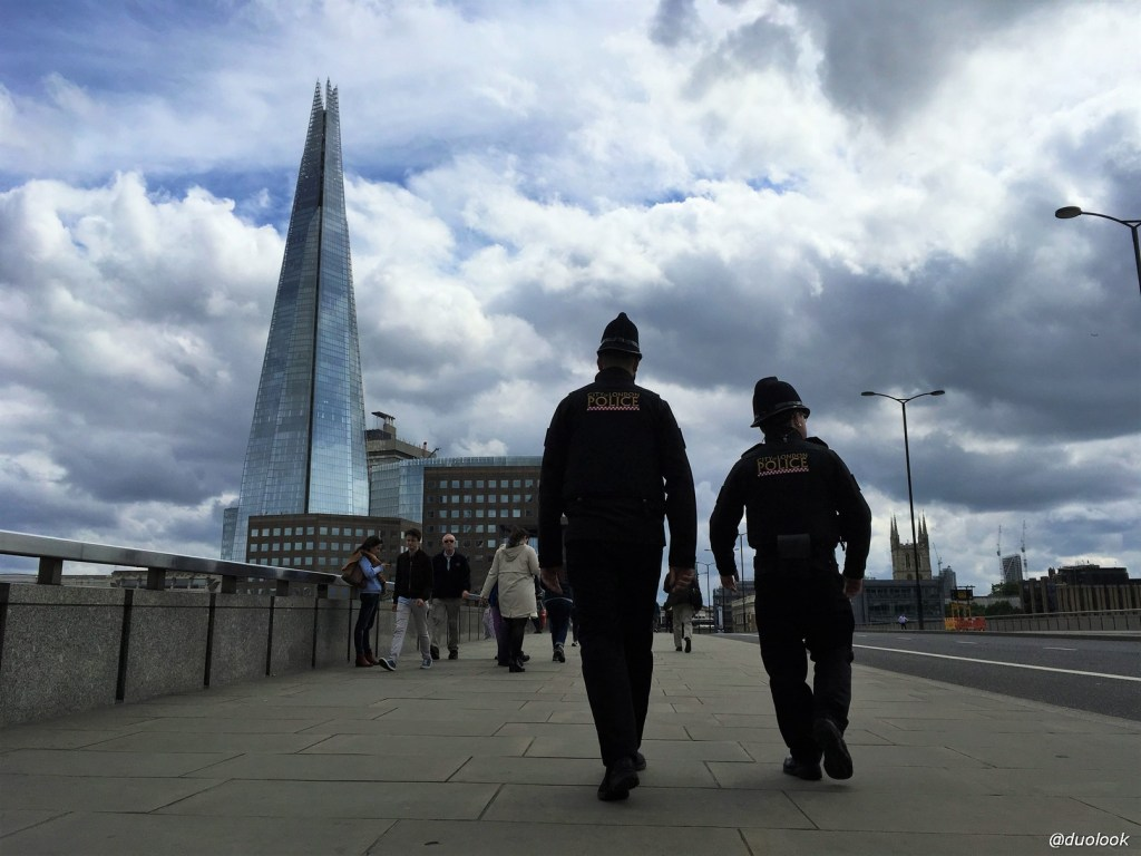 London Bridge policja