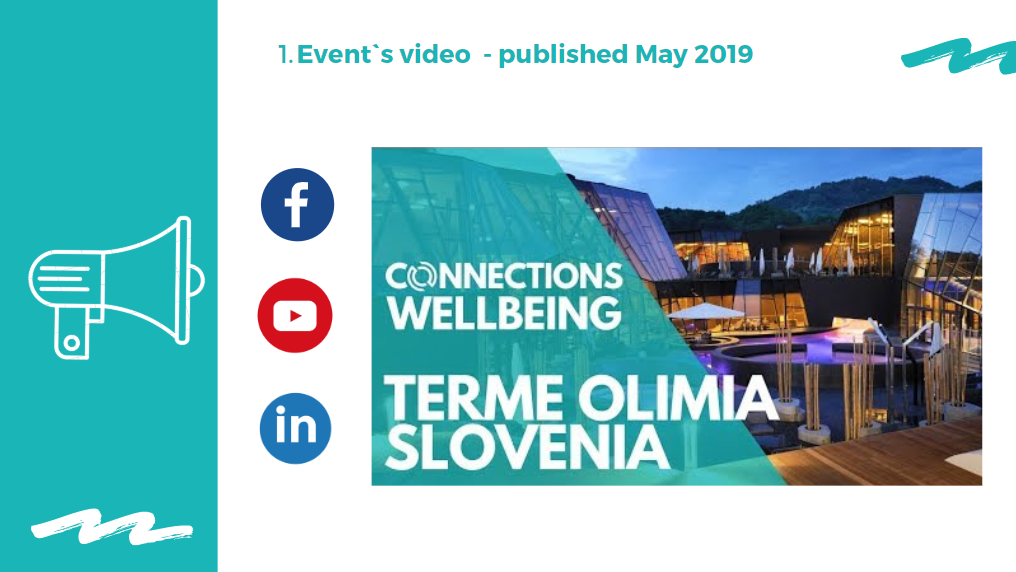Portfolio social media raport wideo Youtube Connections Events