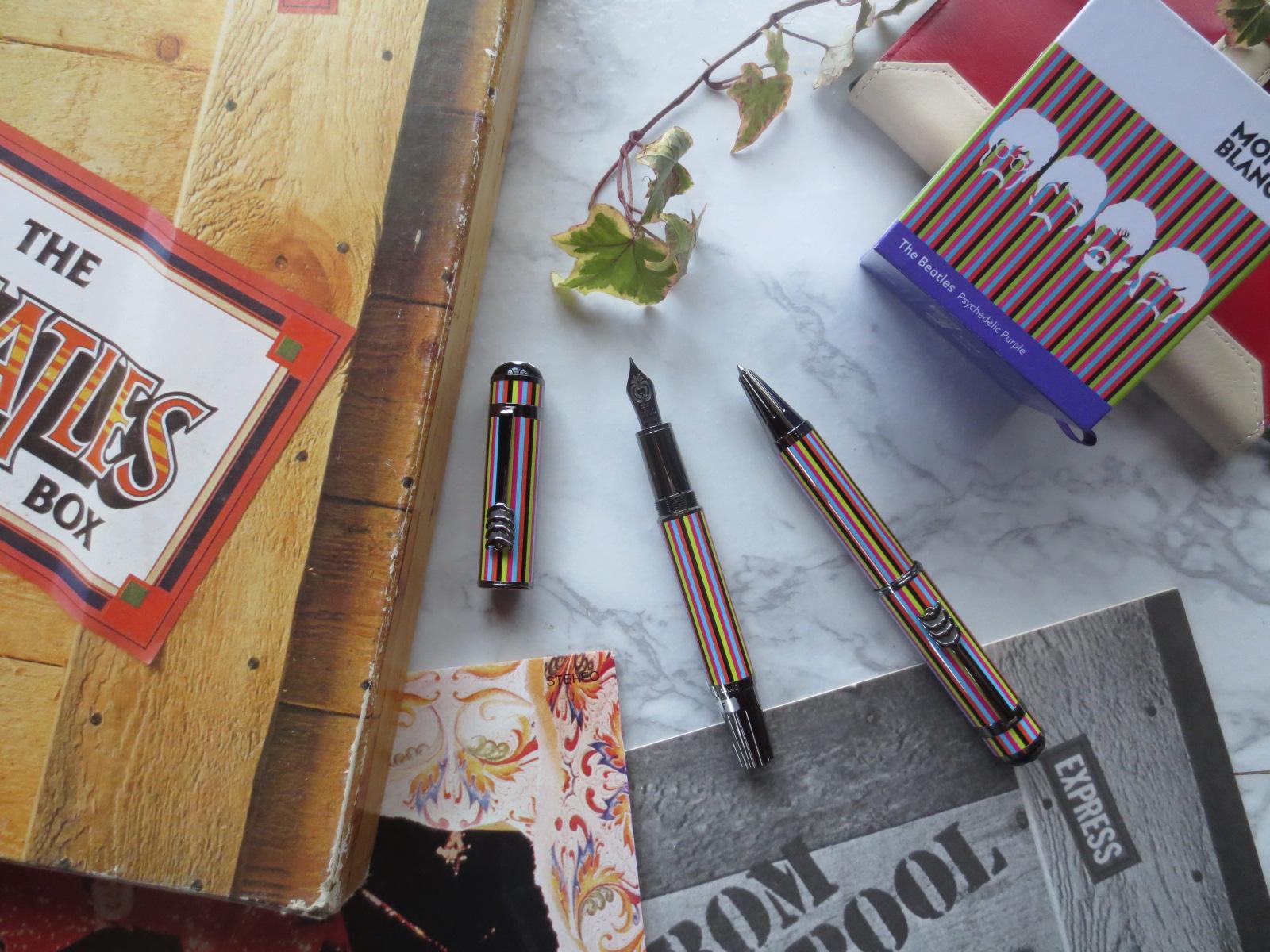 モンブラン・ビートルズの万年筆!書き味とデザインの秘密とは?