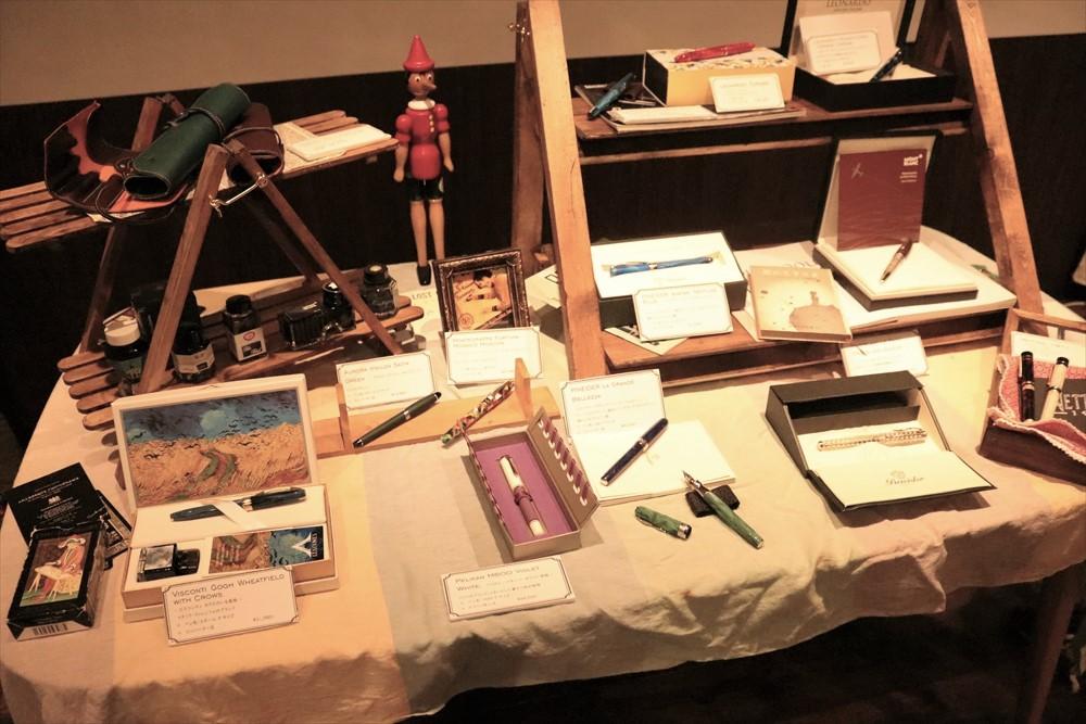 万年筆ワークショップ 万年筆の使い方 イタリアの朝市 高崎