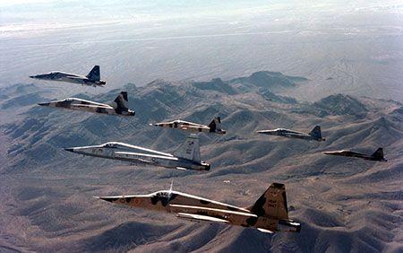 F-5 Tiger II Support Capabilities