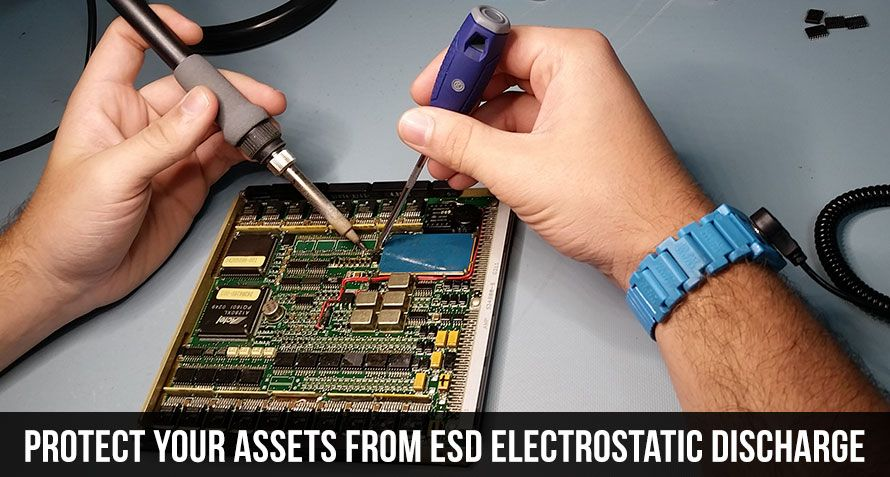 Protect Your Assets From ESD Electrostatic Discharge