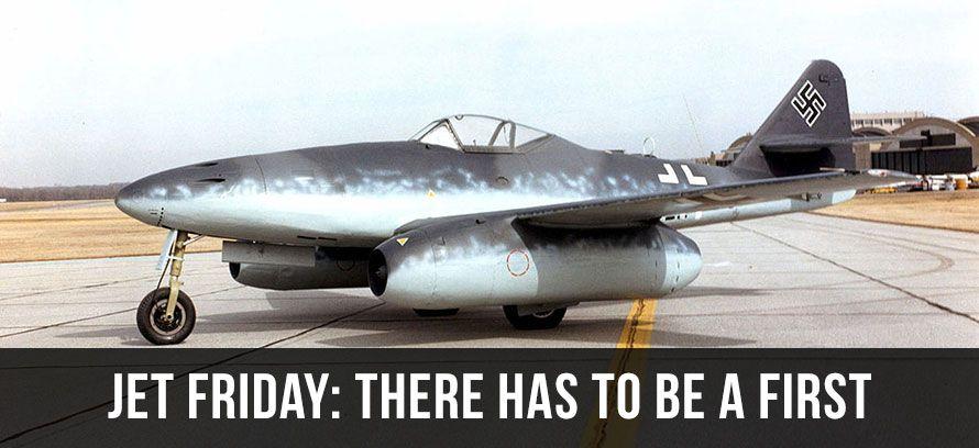 Me 262 first jet fighter aircraft Messerschmitt