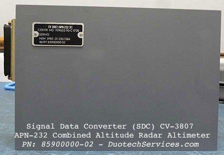 signal data converter cv3807 pn 85900000-02