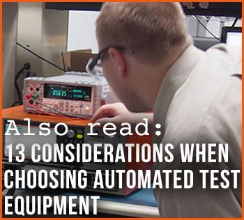 Considerations When Choosing Automated Test Equipment