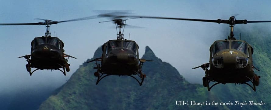 12 Military Fixed Wing and Rotor Wing Aircraft in the Movies