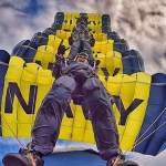 Drop Into a Football Stadium With the U.S. Navy Parachute Team