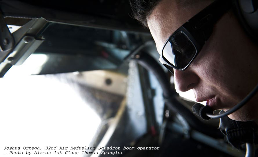 Jet Friday: His Own Airshow Daily; A Refueler Boom Operator Shares His View