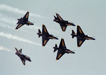 A-4E as Blue Angels