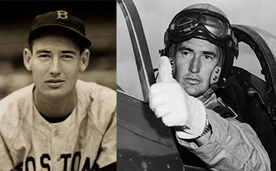 Ted Williams Baseball Hall of Famer and Marine Corps Pilot