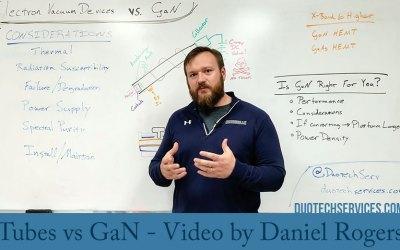 Tubes vs GaN – Video by Daniel Rogers