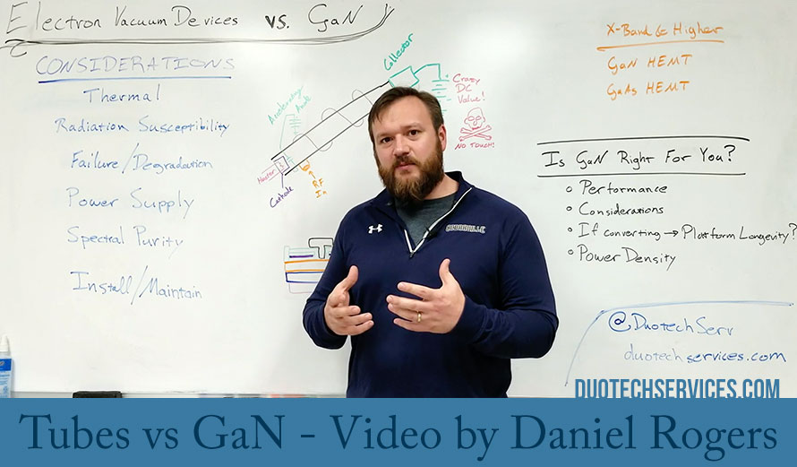 Tubes vs GaN - Video by Daniel Rogers