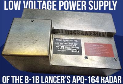 low voltage power supply apq-164 b1 lancer