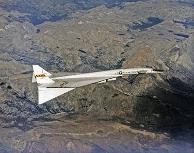 NASA XB-70-in-Flight