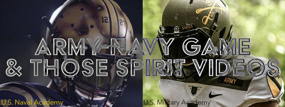 army navy games 2019 uniforms and spirit videos