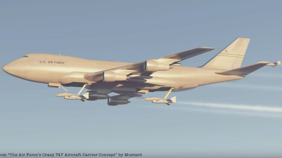 The Air Force Envisioned an Airborne Aircraft Carrier