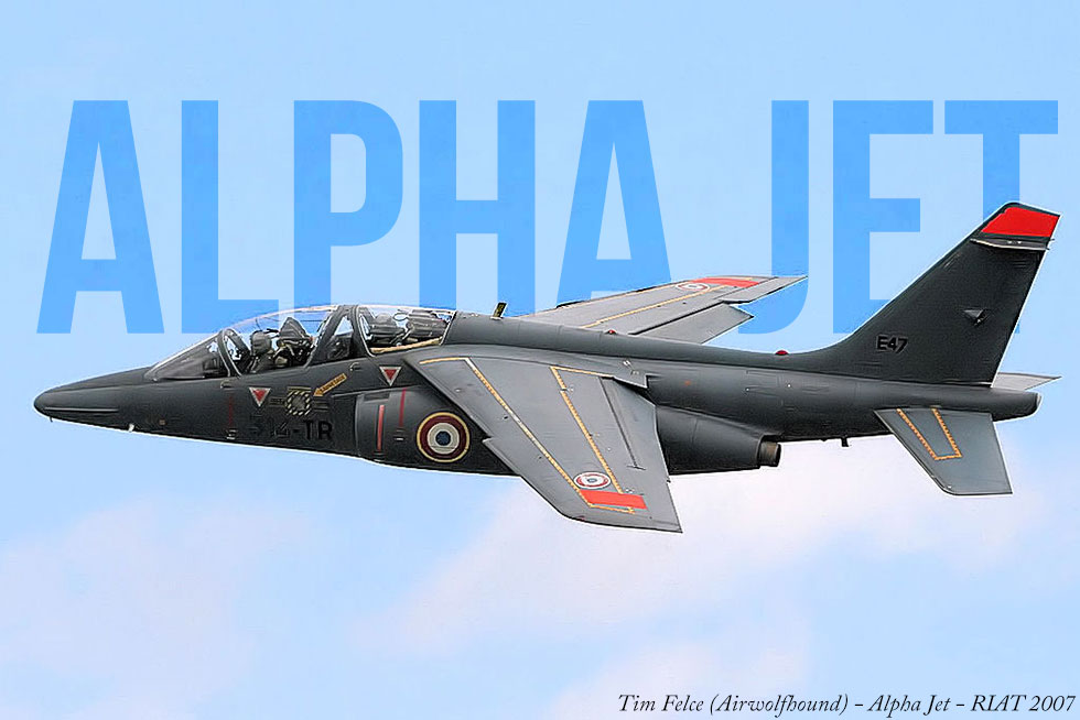 Jet Friday- The Alpha Jet; A Partnership Between Two Countries