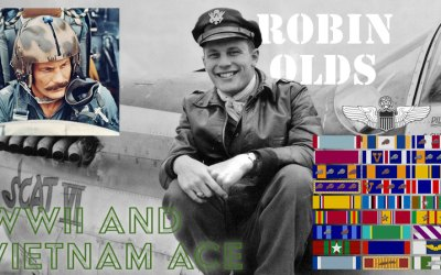 Robin Olds – WWII and Vietnam ACE