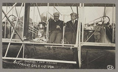 First flight by U.S. President Theodore Roosevelt