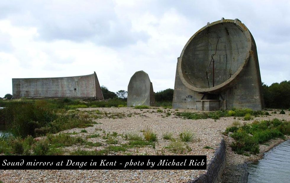 Early Warning Sound Mirrors Protected Great Britain Before Radar