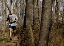 Mike DeMeritt running