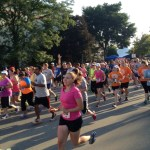 Runner at 9th Annual Run 4 Home Fundraiser where $115,000 in donations were raised.