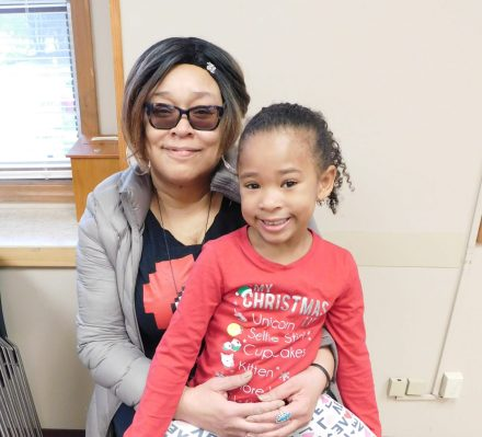 Janet and 5 year-old-Lulu