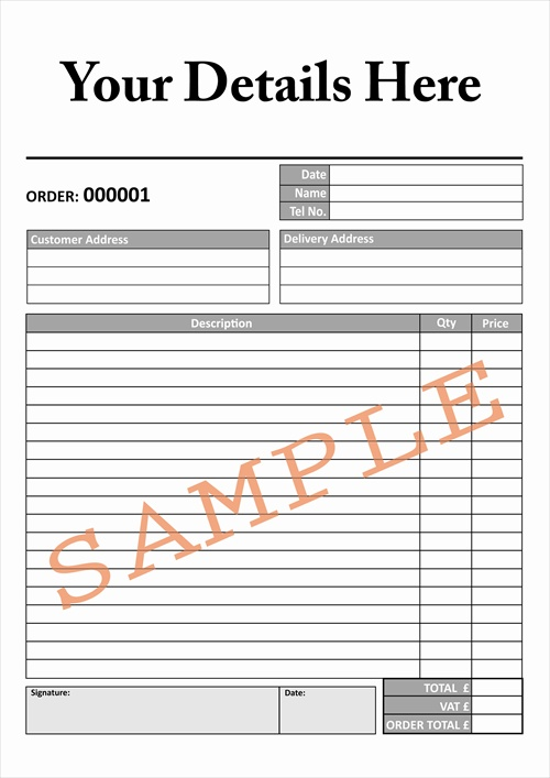 Order Sheet Template. 8 Order Form Template Freereference Letters