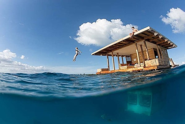 maison sur l'eau