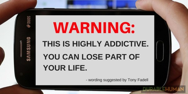 Smartphone Usage Warning Message