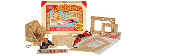 picture of child's woodburning kit