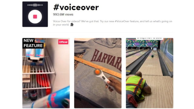 tiktok adds a voiceover feature - TikTok Adds a Voiceover Feature