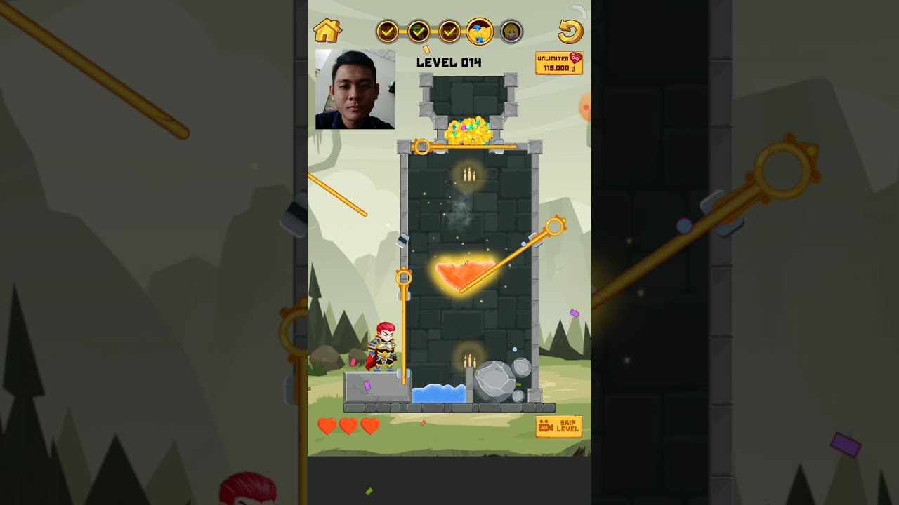 Hero Rescue This is game many others game advertise on facebook or youtube  - Hero Rescue - This is game many others game advertise on facebook or youtube ????