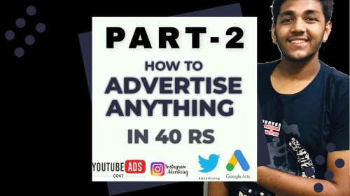 ADVERTISE ANYTHING IN 40RS PART 2 YOUTUBE AND FACEBOOK ADVERTISING - ADVERTISE ANYTHING IN 40RS PART-2 ????????YOUTUBE AND FACEBOOK ADVERTISING