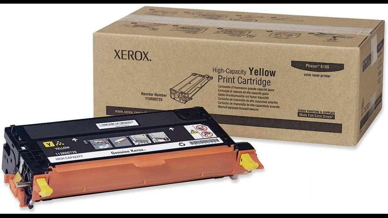 User Review Xerox Phaser 61806180 MFP Yellow High Capacity Toner Cartridge 6000 Pages 11... - User Review: Xerox Phaser 6180/6180 MFP Yellow High Capacity Toner Cartridge (6,000 Pages) - 11...