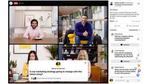 workplace from facebook tops 7m paid subscribers - Workplace From Facebook Tops 7M Paid Subscribers