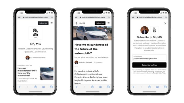 facebook bulletin gets an infusion of new creators - Facebook Bulletin Gets an Infusion of New Creators